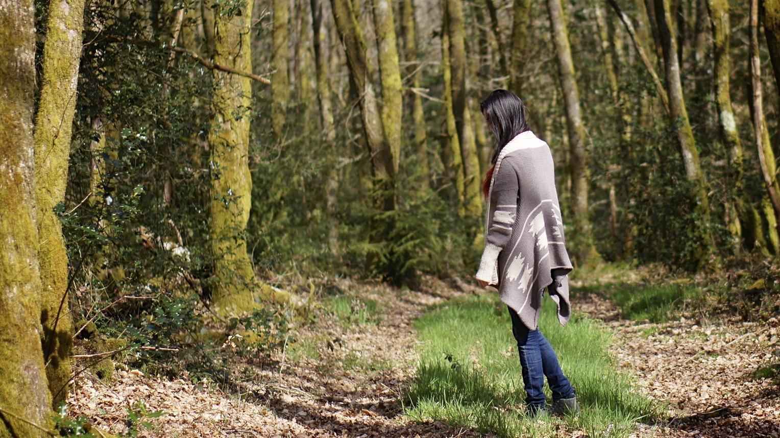 gilet Brunehilde Lili the banyan tree